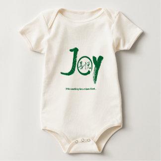"""Body Kanji vert de joie à l'intérieur de cercle """"joie"""""""