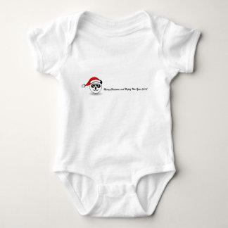 Body La combinaison de Père Noël de panda avec Noël