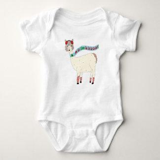 Body La de lama de La du lama fa de Noël pour le bébé