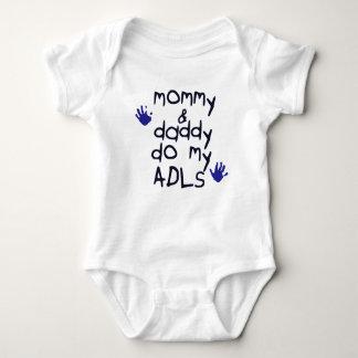 Body La maman et le papa font mon bébé bleu du