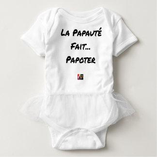 Body LA PAPAUTÉ FAIT PAPOTER - Jeux de mots