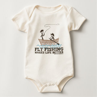 Body La pêche de mouche rend la vie meilleure