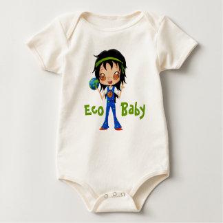 Body La terre hippie de paix de fille de bébé d'Eco