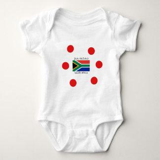 Body Langue de zoulou (isiZulu) et drapeau de l'Afrique