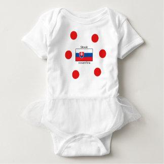 Body Langue et conception slovaques de drapeau de la