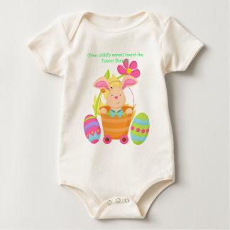 Body Lapin de Pâques infantile personnalisé