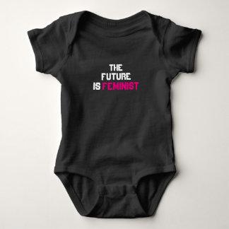 Body L'avenir est combinaison infantile féministe