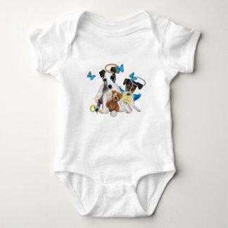 Body Le bébé d'ange de Jack Russell Terrier badine des