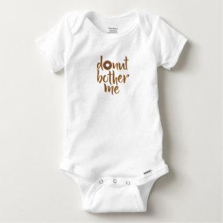 Body Le beignet me tracassent chemise de bébé
