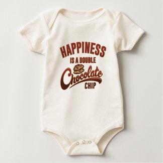 Body Le bonheur est une double puce de chocolat