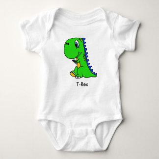 Body Le dinosaure mignon T-Rex badine la chemise