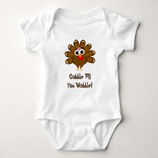 Body Le ęr thanksgiving du bébé avalent jusqu'à ce que