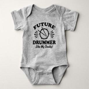 Body Le futur batteur aiment mon papa