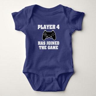 Body Le joueur 4 a joint le jeu - chemise de Gamer de