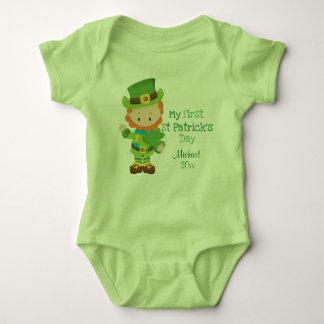 Body Le jour de premier St Patrick de lutin mignon