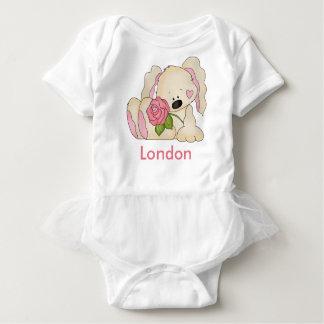 Body Le lapin personnalisé de Londres