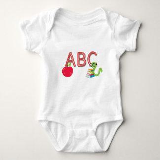 Body Le néon d'ABC marque avec des lettres le rat de