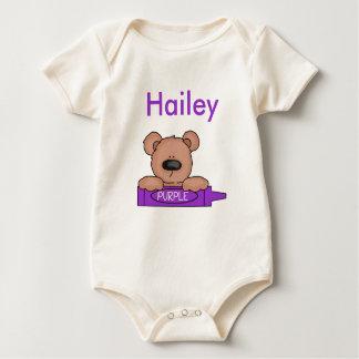 Body Le nounours personnalisé de Hailey