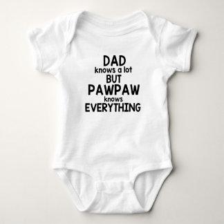 Body Le papa sait beaucoup mais la papaye sait tout