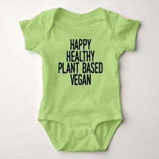 Body Le plante sain heureux a basé le végétalien (le