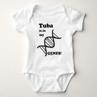 Body Le tuba est dans mes gènes