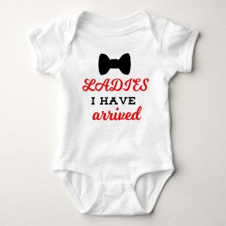 Body Les dames I ont la combinaison arrivée de bébé
