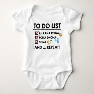 Body Liste de remue-ménage de bébé de Desi ! (Mangez,