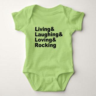 Body Living&Laughing&Loving&ROCKING (noir)