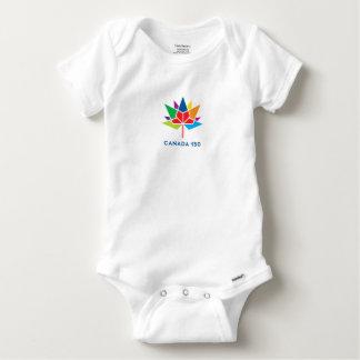 Body Logo de fonctionnaire du Canada 150 - multicolore