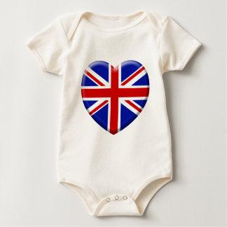 Body love drapeau Angleterre