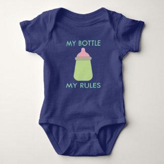 Body Ma bouteille mon habillement de bébé de règles