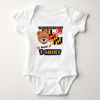 Body Ma première chemise d'ours de nounours du Maryland