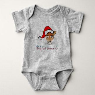 Body Ma première girafe de bébé de Noël