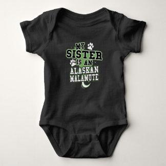 Body Ma soeur est un Malamute d'Alaska