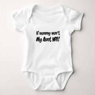 Body Ma tante costume de corps de bébé