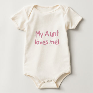 Body Ma tante Loves Me ! (rose