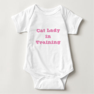 Body Madame de chat dans la combinaison de bébé de