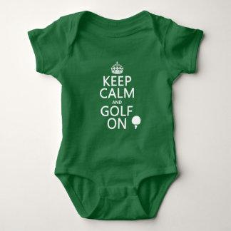 Body Maintenez le calme et le golf dessus - disponibles