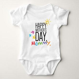 Body Maman heureuse du jour de mère