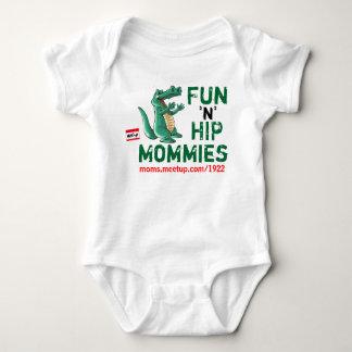 Body mamans de hanche de l'amusement n de 6-12 mois -