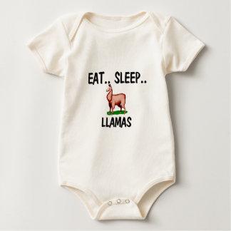 Body Mangez les LAMAS de sommeil