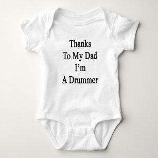Body Merci à mon papa je suis un batteur