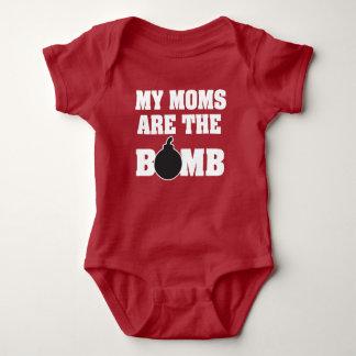 Body Mes mamans sont la chemise de bébé de bombe