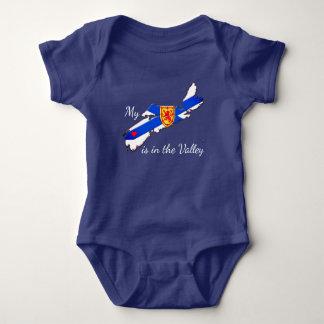 Body Mon coeur est la chemise de bébé de la