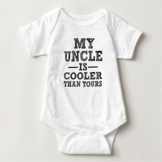 Body Mon oncle est plus frais que votre bébé drôle de