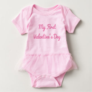 Body Mon premier équipement de filles de Saint-Valentin