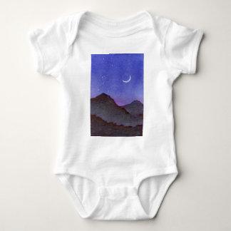 Body Montagnes d'Orion et de croissant de lune
