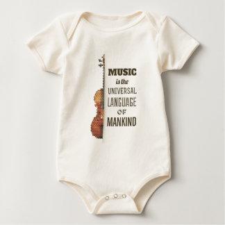 Body Musique la combinaison de la langue universelle |