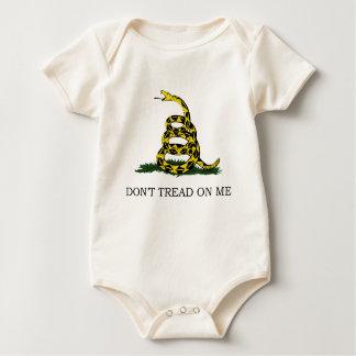 Body Ne marchez pas sur moi le nourrisson organique