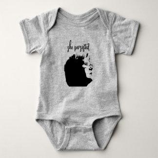 """Body """"Néanmoins, elle a persisté"""" chemise de bébé"""